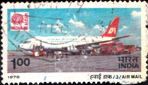 794 Air Mail [India Stamp 1979]