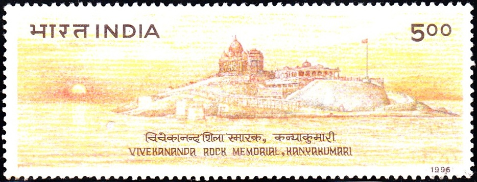 1518 Vivekananda Rock Memorial, Kanyakumari [India Stamp 1996]