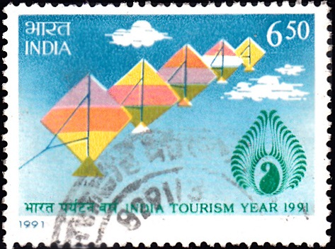 1314 India Tourism Year [India Stamp 1991]