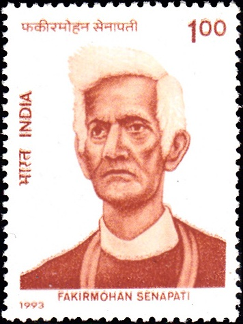 1365 Fakirmohan Senapati [India Stamp 1993]