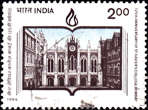 1431 St. Xavier's College, Bombay [India Stamp 1994]