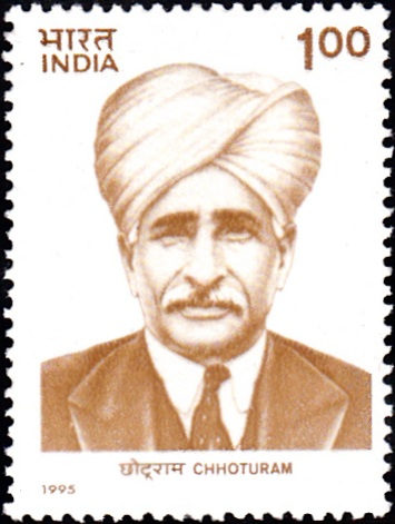 1440 Chhoturam [India Stamp 1995]