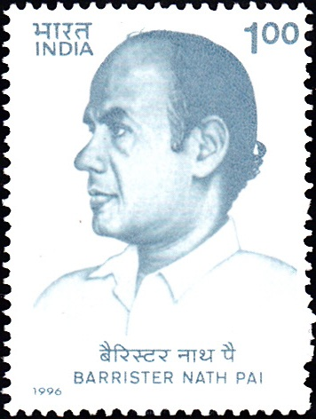1504 Barrister Nath Pai [India Stamp 1996]