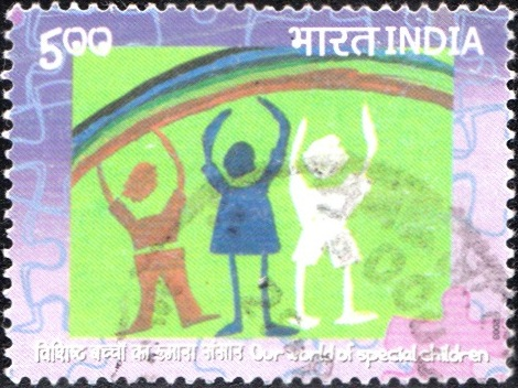 1982 Our World of Special Children [India Stamp 2003]
