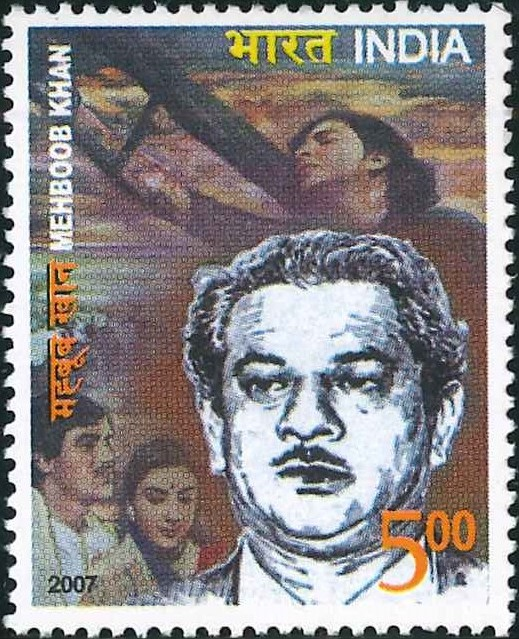 2264 Mehboob Khan [India Stamp 2007]