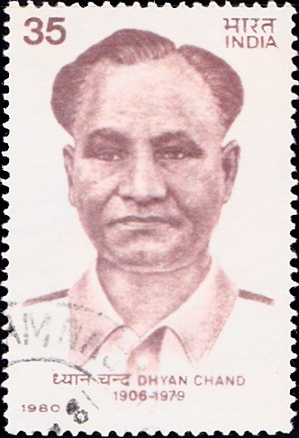 836 Dhyan Chand [India Stamp 1980]