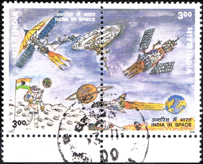 1786-india-in-space-setenant-stamp-2000