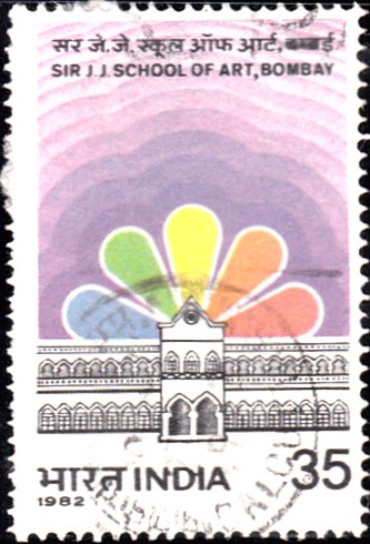 883-sir-j-j-school-of-art-bombay-india-stamp-1982