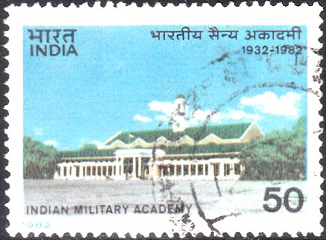 914-indian-military-academy-india-stamp-1982
