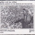 Indira Gandhi : In the Service of the Nation