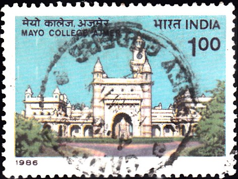 1038-mayo-college-ajmer-india-stamp-1986