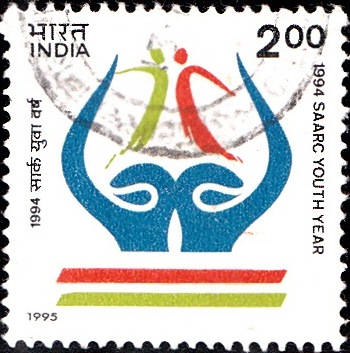 1444-saarc-youth-year-1994-india-stamp-1995