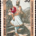 India on Chhatrapati Shivaji 1980