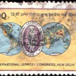 India on XII International Leprosy Congress, New Delhi, 1984