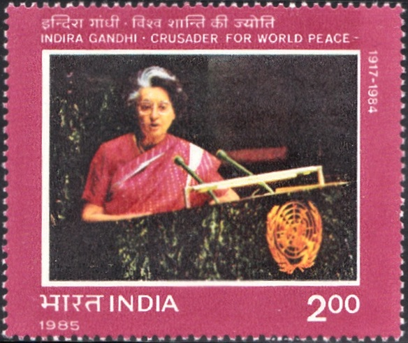 998-indira-gandhi-addressing-un-general-assembly-india-stamp-1985