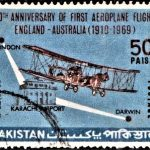 First Aeroplane Flight England-Australia