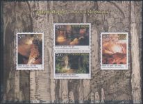 India Stamp Miniature Sheet 2017, Krem, Khasi, nature pic