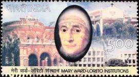 India Stamp 2011 Christianity, Institute of the Blessed Virgin Mary, Loreto Sisters