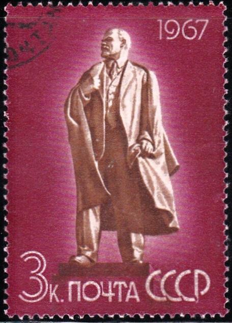 2. Lenin Monument at Ulyanovsk [97th Birth Anniversary]