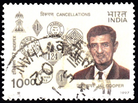 Jal Manekji Cooper and Early Indian Post Marks (Cancellations)