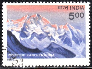 Kangchenjunga, 3rd highest mountain in the world