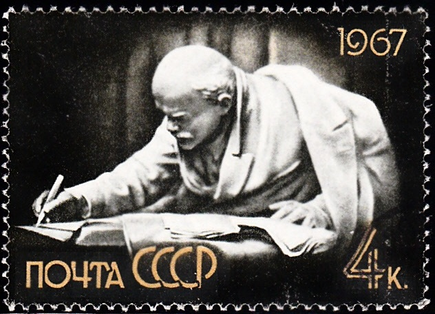 3. Lenin in Razliv [97th Birth Anniversary]