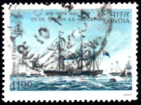 SS Hindostan, Peninsular & Oriental Steam Navigation Co., Southampton to Calcutta