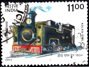 4. ZF 1934, Kalka - Simla Railway [Mountain Locomotive]