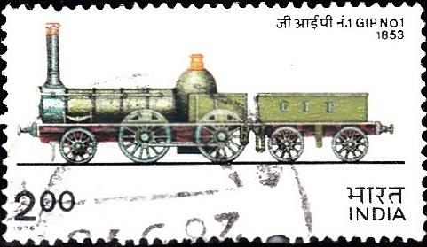 GIP No. 1 (Steam Locomotive) : Vulcan Foundry, England (1853)