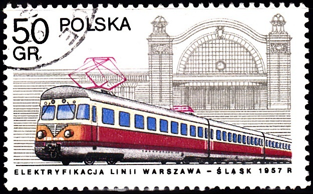 1. Electric Locomotive & Katowice Station [Locomotives in Poland]