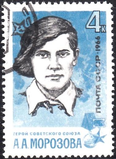 3. Anya Morozova [Gold Star of Hero of the Soviet Union]