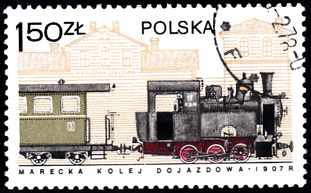 5. Marki Train & Warsaw Stalow Station [Locomotives in Poland]