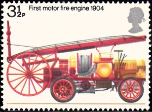 716. First Motorized Fire Engine, 1904