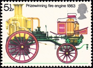 717. Prize Winning Sutherland Fire Engine, 1863