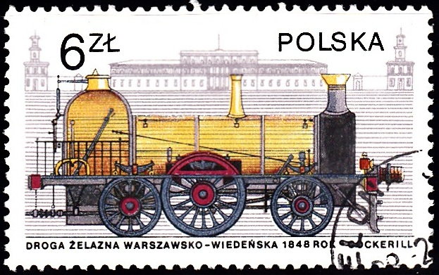 8. Cockerill & Vienna Station [Locomotives in Poland]