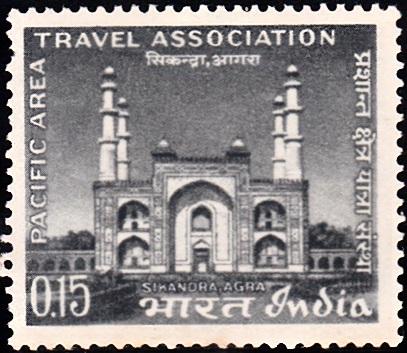Akbar's tomb, Sikandra, Agra, Uttar Pradesh