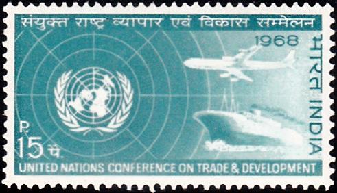 United Nations Emblem, Plane and Ship