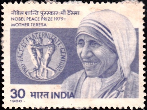 Saint Teresa (Mary Teresa Bojaxhiu) : Nobel Peace Prize Winner 1979