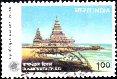 Shore Temple, Mahabalipuram [Commonwealth Day]