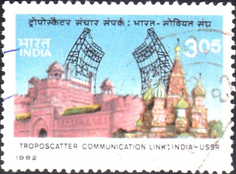 Troposcatter Communication Link [India-USSR]