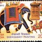 Shekhawati and Warli Paintings