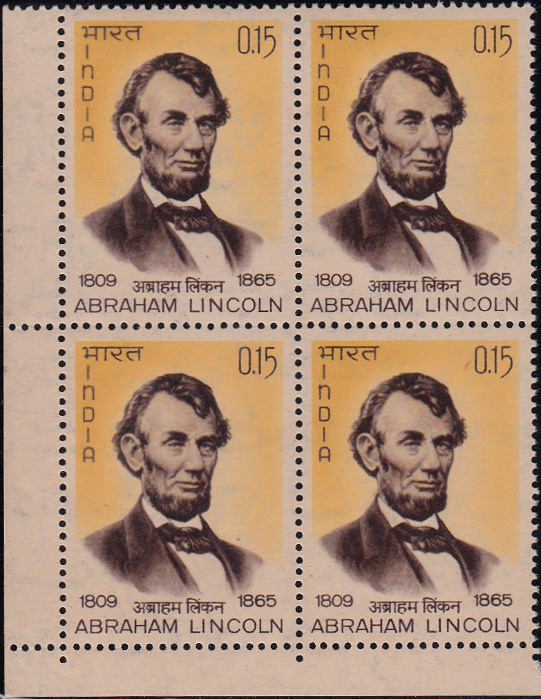 415 Abraham Lincoln [Block of 4]