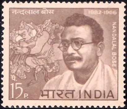 Nandlal Bose (contextual modernism) : Garuda (Vishnu Vahana)