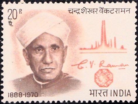 CV Raman : Spectral Graph and Diamond