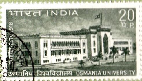 उस्मानिया विश्वविद्यालय, हैदराबाद, तेलंगाना