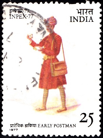 Early Postman of Punjab
