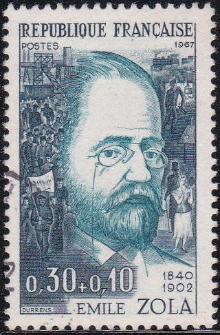 1 Emile Zola [Semi-Postal Stamp]