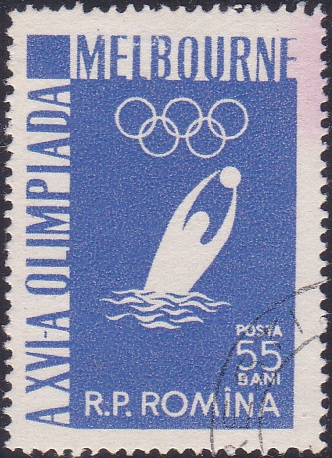 1117 Water Polo [Olympic Games 1956, Melbourne]