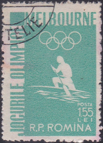 1119 Canoeing [Olympic Games 1956, Melbourne]