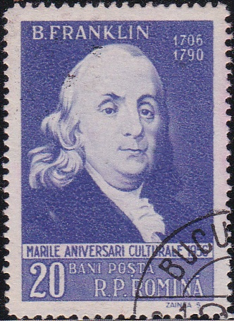 1122 Benjamin Franklin [Romania Stamp]